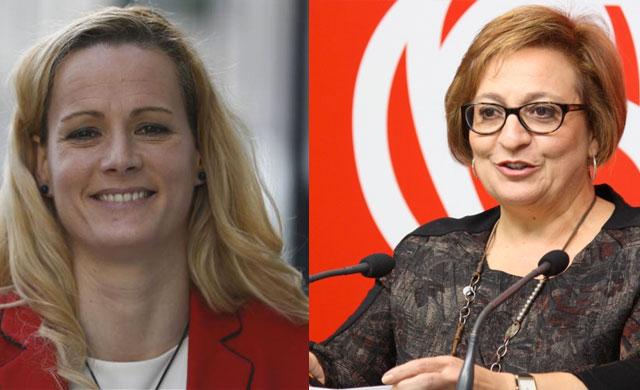 Las diputadas socialistas Zaida Cantera y Guadalupe Martín se enfrentan en Twitter