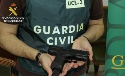 46 detenidos, algunos en Albacete, en una opera contra el tráfico de armas