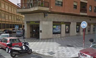 Detenido por atracar con un arma de fuego un banco en Albacete