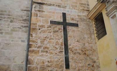 Cuenca no podrá elmininar los simbolos franquistas de la Catedral