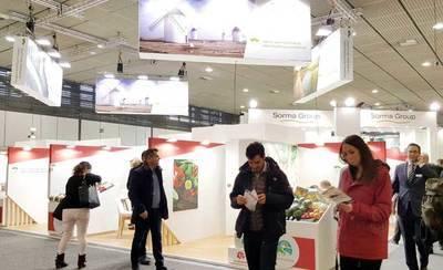 La región se promociona en la Feria Fruit Logística de Berlín