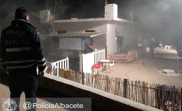 Muere una mujer en un incendio en una vivienda ocupada de Albacete