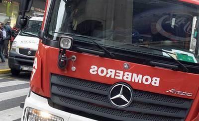 Seis personas rescatadas tras un incendio en un bloque de viviendas
