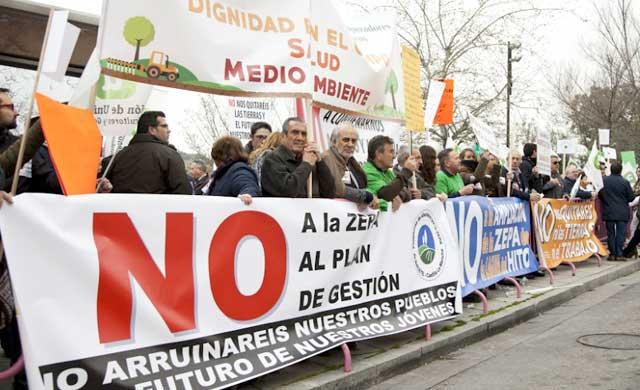 Arroyo resta importancia a la manifestación de agricultores ecológicos