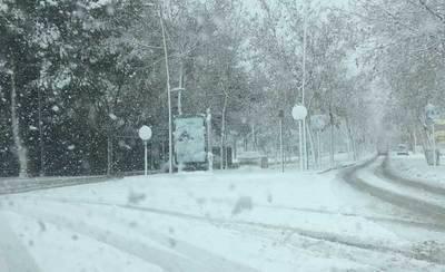 La nieve afecta a parte de C-LM, colegios cerrados y trenes parados