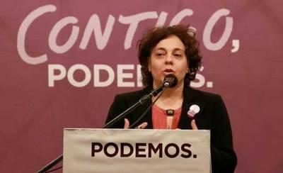 Gloria Elizo descarta ser portavoz de Podemos en el Congreso