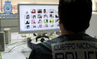 Detenido un veinteañero con más 5.000 archivos de pornografía infantil