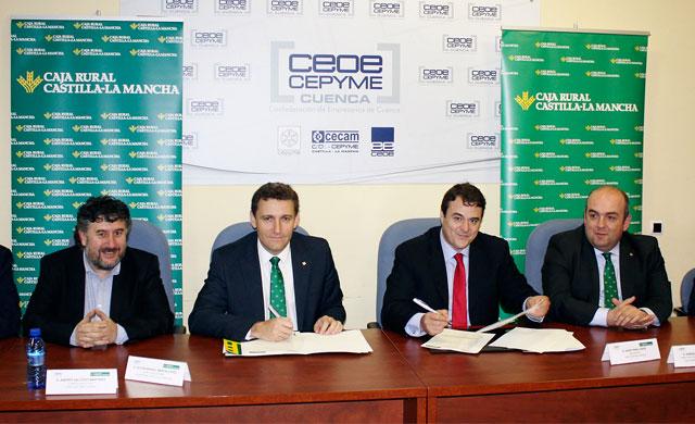 Caja Rural CLM destina 60 millones de euros a los empresarios conquenses
