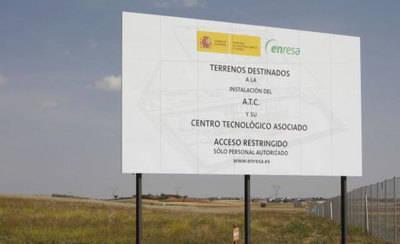 El Gobierno central quiera declarar de Interés General el ATC en Villar de Cañas