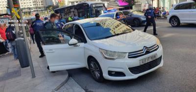 Detenido en Madrid tras robar con violencia un vehículo en Talavera