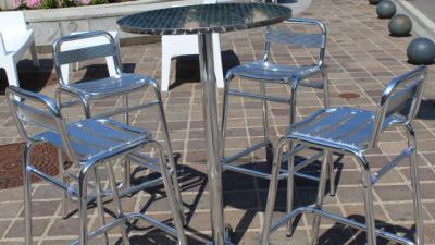 FASE 1   Así estaremos en las terrazas de bares y restaurantes