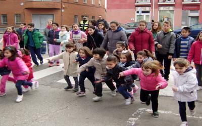 Aviso de cortes de tráfico en Talavera por la Carrera del Colegio San Ildefonso