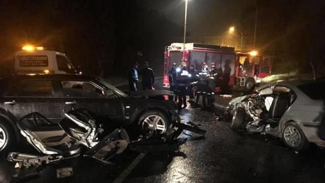 Seis heridos tras una colisión frontal entre dos vehículos en Toledo