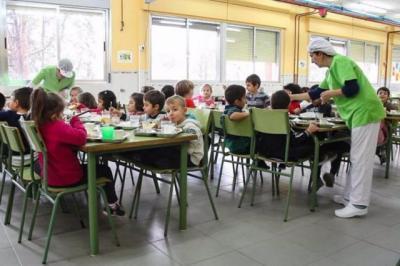 SEMANA SANTA | Los comedores escolares permanecerán abiertos para más de 5.400 alumnos