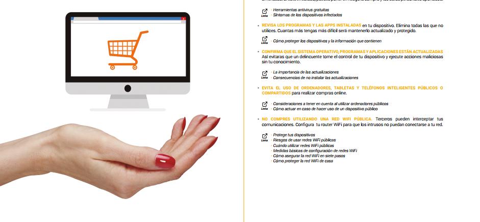 La Policía Nacional distribuye una guía para realizar compras online de forma segura