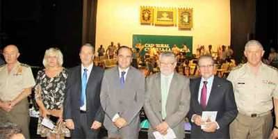 Magnífico concierto de la Guardia Civil en Caja Rural CLM por el Pilar