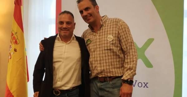 José Ignacio Vega Peinado junto a Ortega Smith /LaMarea.com