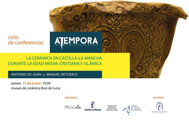 No te pierdas la última conferencia del ciclo 'aTempora Talavera'