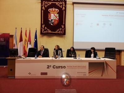 Más de 200 profesionales participan en el 2º curso de psoriasis, artritis y enfermedades autoinmunes en Talavera