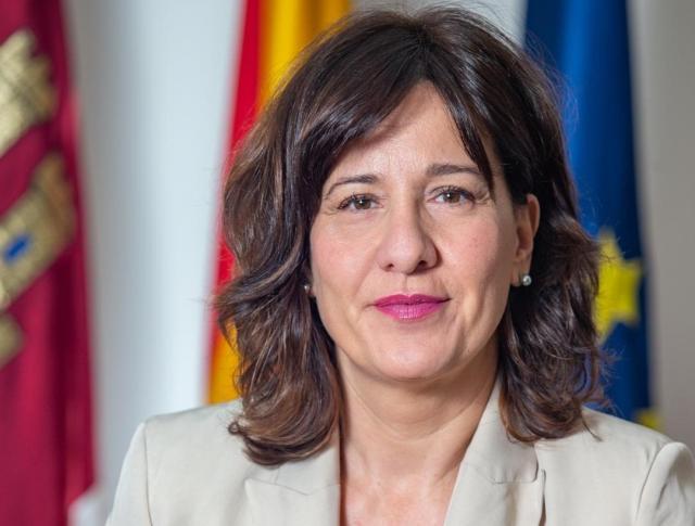 La consejera de Igualdad y portavoz de C-LM, Blanca Fernández.