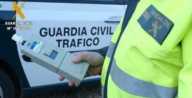 Foto de archivo de un control de alcoholemia de la Guardia Civil de Tráfico / EUROPA PRESS