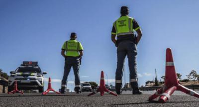 Control. Guardia Civil | Foto: EFE