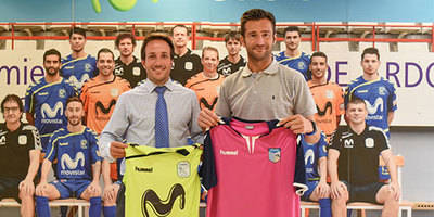 El Soliss FS Talavera firma un convenio con el Movistar Inter