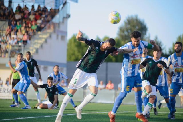 Imagen del Villarrubia-Córdoba que acabó sin goles.