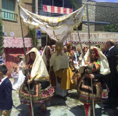 VIDEOPOEMA | 'Corpus Christi en Lagartera', por José María Gómez