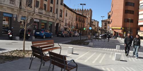 Supondrá la ampliación de la peatonalización de más calles del Casco antiguo