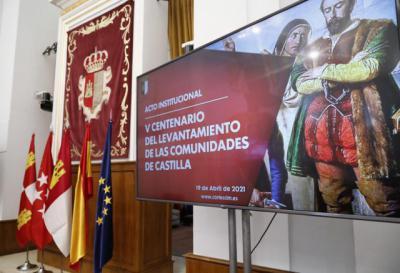 HISTORIA   CLM conmemora el V Centenario del levantamiento de las Comunidades de Castilla