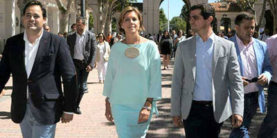 Cospedal pide 'ser justos' y defiende la 'presunción de inocencia' de Rita Barberá