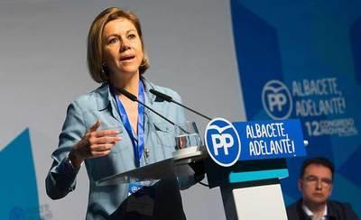 Cospedal se pregunta cómo PSOE y Podemos pretenden gobernar