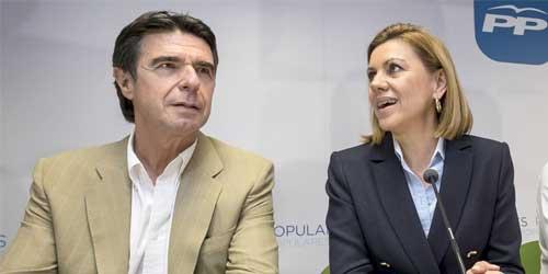 Cospedal dice tener la conciencia 'muy tranquila' tras defender el nombramiento de Soria para el Banco Mundial