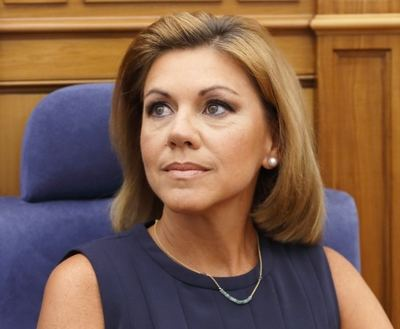 La presidenta del PP de Castilla-La Mancha y secretaria general del partido, María Dolores de Cospedal