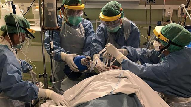Hospitalizado | Imagen de archivo