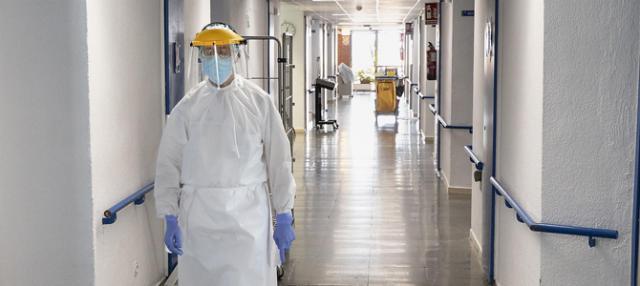 REGIÓN   Disminuye el número de hospitalizados por COVID-19 en cama convencional