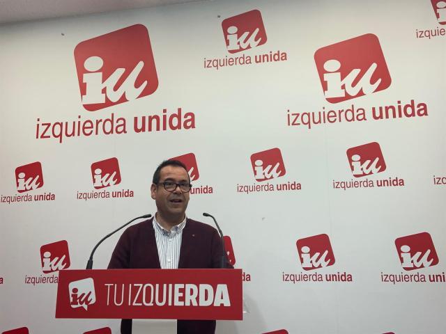 El coordinador regional de IU en Castilla-La Mancha, Juan Ramón Crespo.