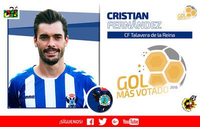 Cristian Fernández, del CF Talavera, logra el mejor gol de la temporada (VÍDEO)
