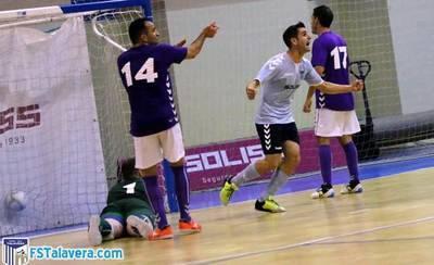 El Soliss FS Talavera se va al descanso con pleno de victorias