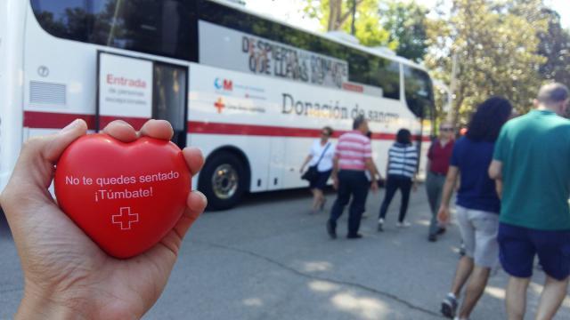 Cruz Roja anima a donar en el Día Mundial del Donante de Sangre
