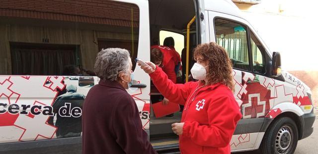 CRUZ ROJA | El estado salud del 35% de las personas atendidas durante la pandemia ha empeorado