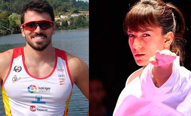 Sandra Sánchez y Paco Cubelos optan a los Premios Admiral como Mejores Deportistas de 2018: ¡vota!