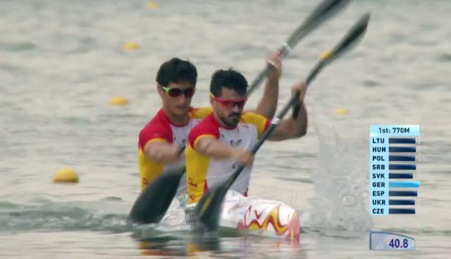 Paco Cubelos e Íñigo Peña, sextos en el Campeonato del Mundo de Racice
