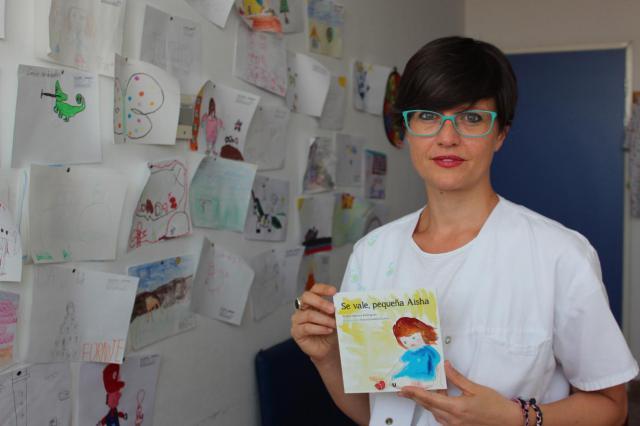 La autora, Esther Atienza.