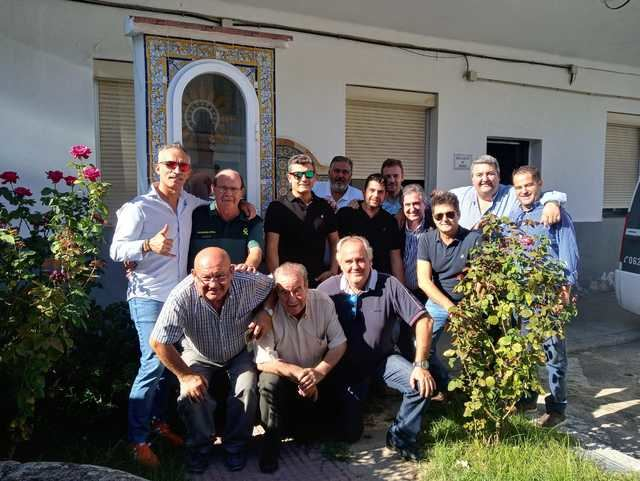 Cumpleaños de Pedro López, interventor de armas del cuartel de la Guardia Civil de Talavera