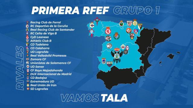 Así será la Primera División RFEF: grupos, funcionamiento, salario...