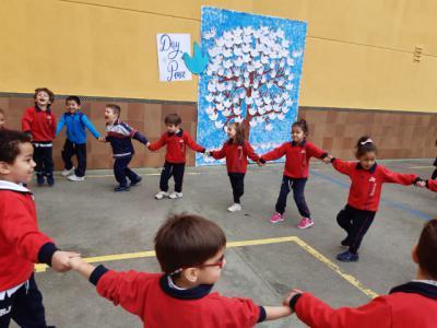 Día de La Paz en el colegio Juan Ramon Jimenez
