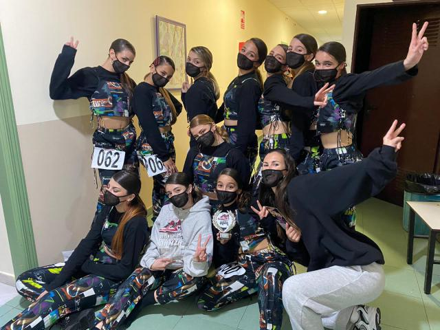 Gran éxito de la escuela talaverana Urban Dance Society