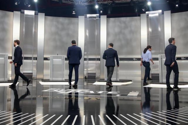 CLM, 'enganchada' al debate electoral entre Sánchez, Casado, Rivera, Iglesias y Abascal